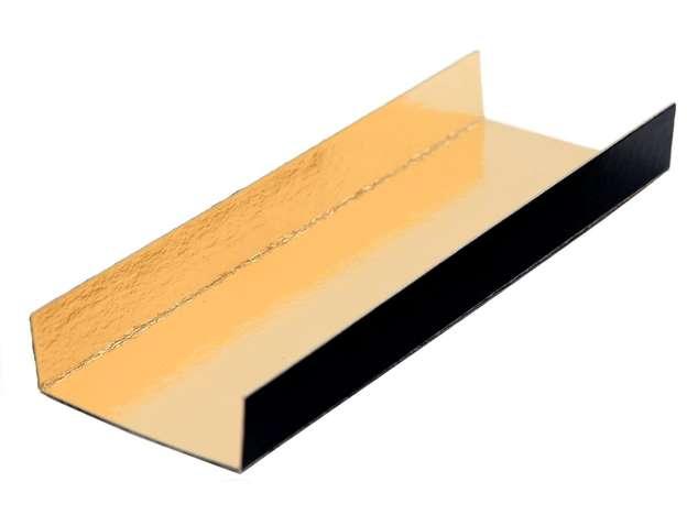 Fond plié Or/Noir 380 Gr/m² : Boites