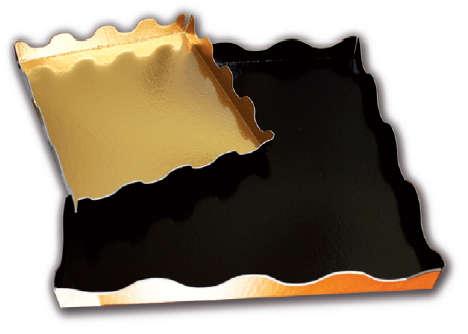 Plateau Carré Ondine : Boites