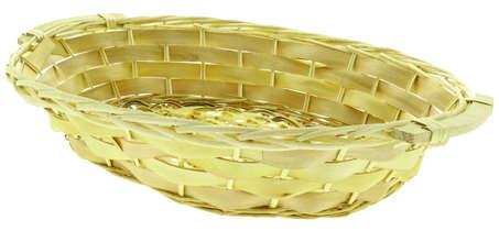 Corbeille en bois bord éclisse : Corbeilles & paniers