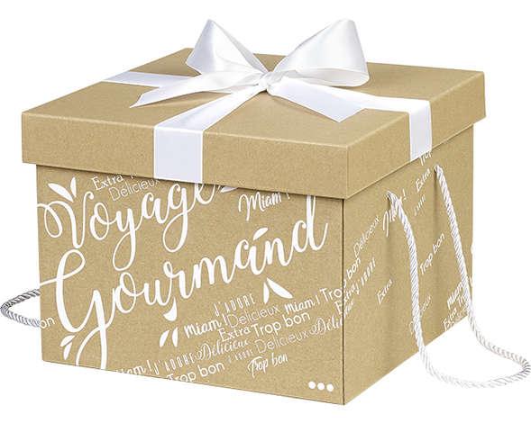 Boîte cadeau en carton : Boites