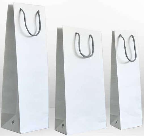 "Sac kraft blanc collection ""LUPUNA"" : Bouteilles"
