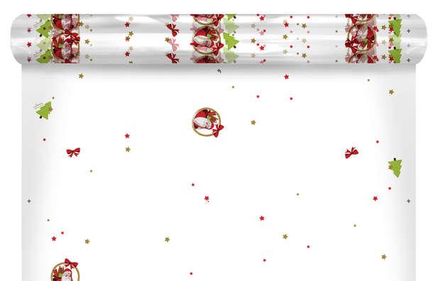 "Film polypro motifs ""Santa"" : Accessoires emballages"