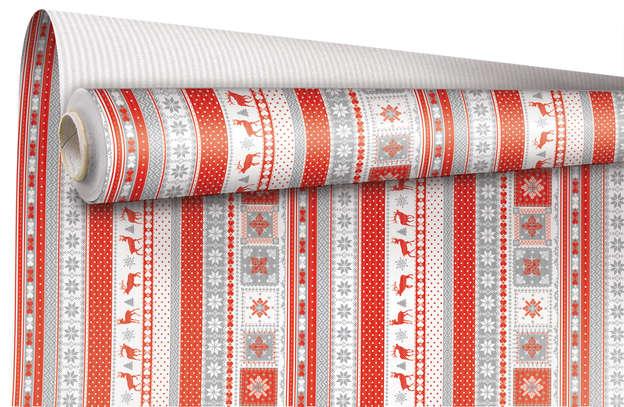 """Rouleau Papier cadeau """"Chalet"""" : Accessoires emballages"""