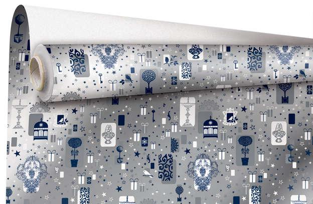 """Rouleau papier cadeau """"Marjorie"""" : Accessoires emballages"""