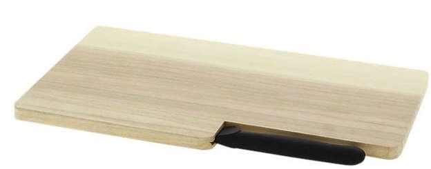 Planche + couteau Knife : Plateaux & planches