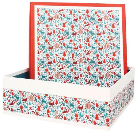 Boite Coffret  Carton Laponie  : Boites