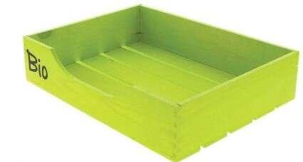 Cagette Verte Bio Ouverte  : Ameublement