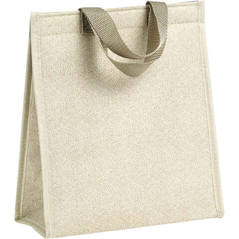 Sac isotherme rectangle beige  : Sacs