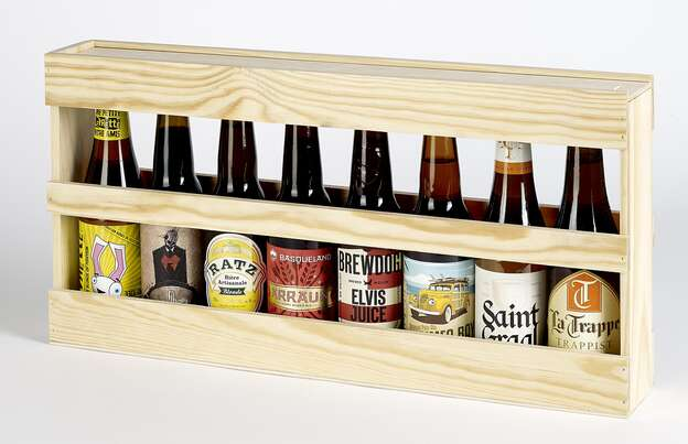 Coffret bois bières Longneck : Bouteilles