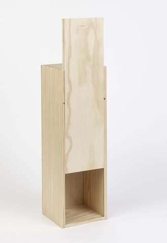 Caisse bois Magnum 1.5L  Bourgogne  avec guillotine  : Bouteilles