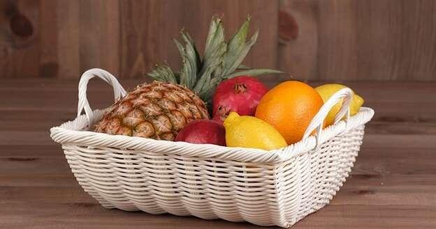 Fruitière Polypropylène Blanche : Corbeilles & paniers