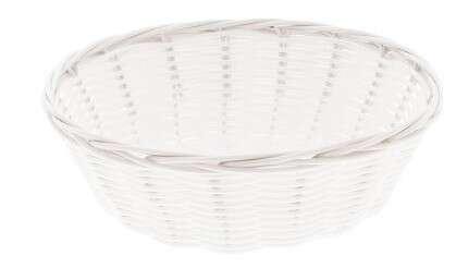 Corbeille Polypropylène plastic Blanc PM : Corbeilles & paniers