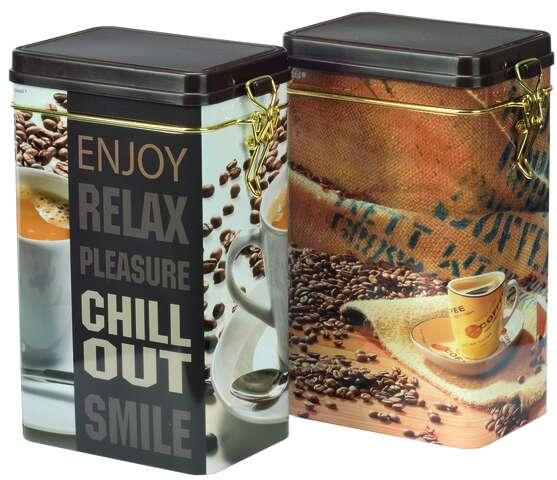"""Boite métal à café """"CHILL"""" : Boites"""