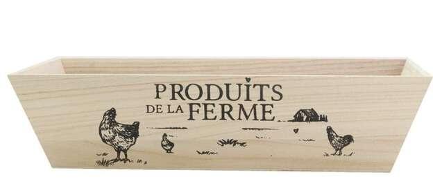 """Corbeille """"Produits de la ferme"""" : Corbeilles & paniers"""
