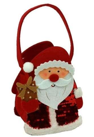 Sac feutrine Père Noël  : Spécial fêtes