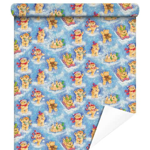 Papier cadeaux Ourson  : Accessoires emballages
