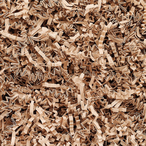 Frisure de papier kraft nature : Accessoires emballages