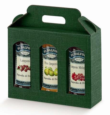 Carton 3 pots  Hauteur 150 mm : Bocaux