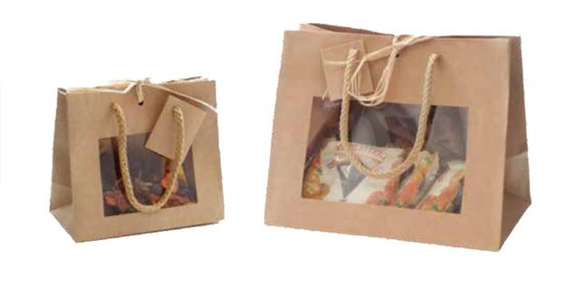Mini-sacs fenêtre pour les articles du Terroir : Bocaux