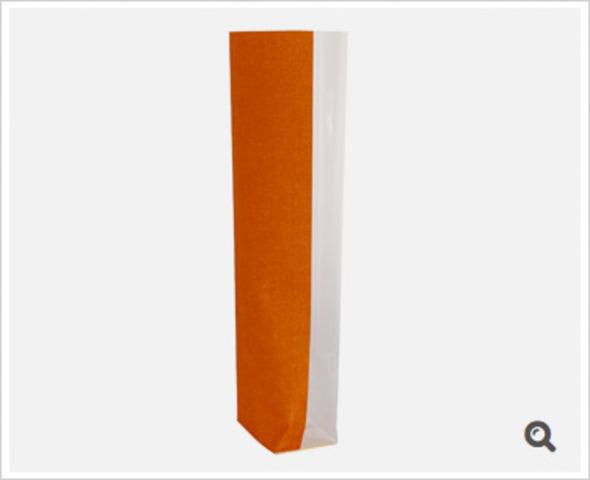 SACHETS IMPRIMES Décors Toile de Jute orange : Sachets