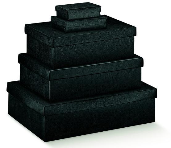 Boites carton noir : Boites