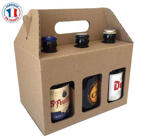 STEINIE - Coffret carton bière 33clx6 : Bouteilles