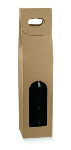 Carton 1 bouteille 0.75cl avec fenêtre : Bouteilles