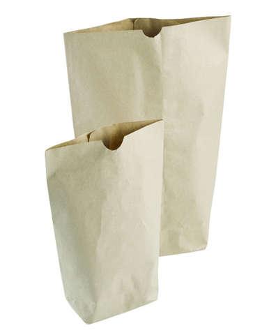 Sac écorné en papier kraft : Sachets