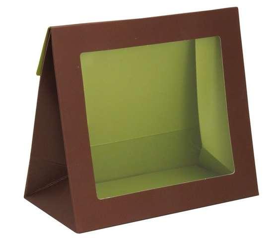 """Pochette en carton avec fenêtre """" Instants Gourmands """" : Bocaux"""