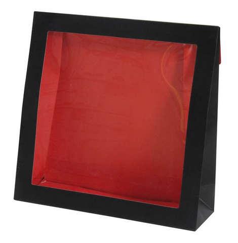 Pochette carton avec fenêtre transparente : Sachets